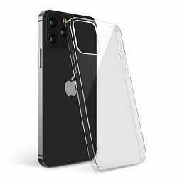 Чехол для iPhone 12/12 Pro MOCOLL Crystal Series Light and Slim TPU Case Clear