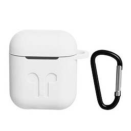 Чехол для AirPods Dixico Silicone Case White
