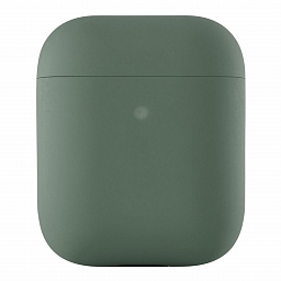 Чехол для AirPods uBear Ultra Thin Silicon Case Green