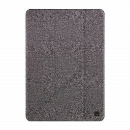 Чехол для iPad 10.2 (2019) Uniq Yorker Kanvas Grey
