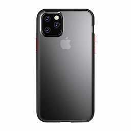 Чехол для iPhone 11 Pro Max Dixico TPU+PC Hard Shell Series Black