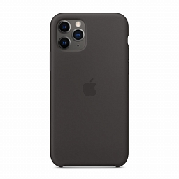 Чехол для iPhone 11 Pro Max Dixico Silicone Case Black