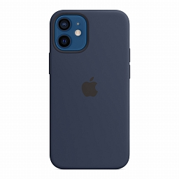 Чехол для iPhone 12 mini Apple Silicone Case with MagSafe - Deep Navy