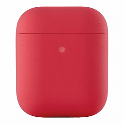 Чехол для AirPods uBear Ultra Thin Silicon Case Red