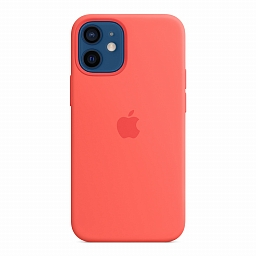 Чехол для iPhone 12 mini Apple Silicone Case with MagSafe - Pink Citrus
