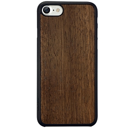 Чехол для iPhone 7/8/SE Ozaki  O!coat 0.3 + Wood Dark Brown